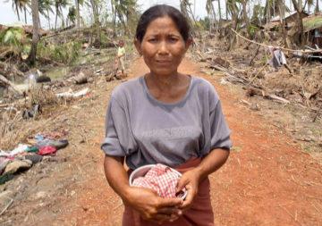 Cyclone in Myanmar / Burma