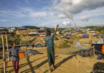 Further disaster threatens Rohingya refugees in Bangladesh