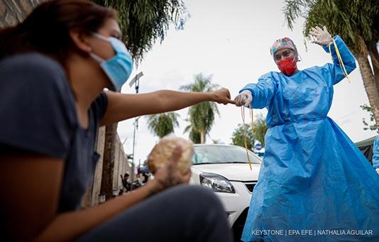 «Coronavirus International»: CHF 5 million in additional donations