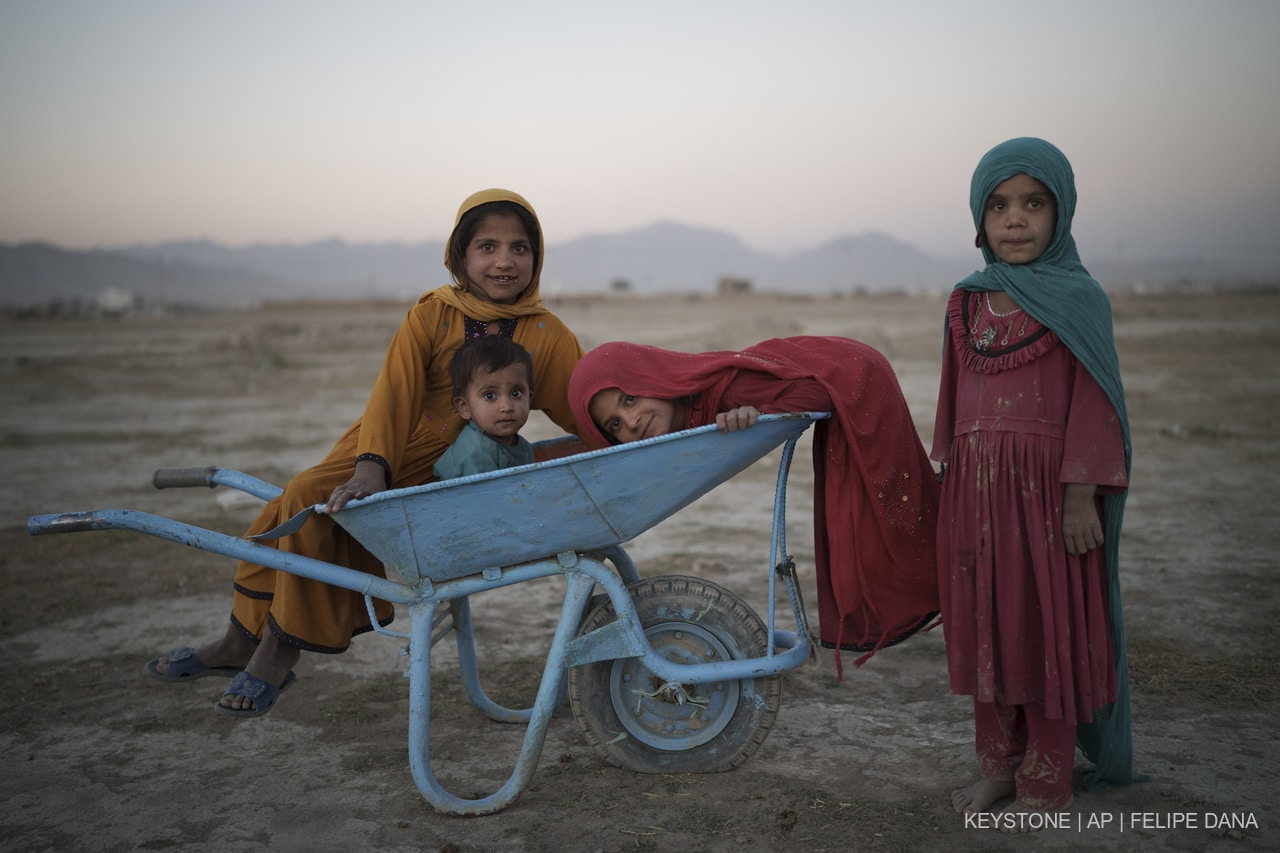 Afghanistan, One Month Later and 3 Million Francs Collected