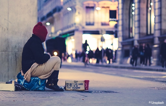 Support for homeless and excluded people in Switzerland